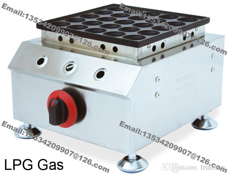 25-hole Commercial Use Non Stick Mini Dutch Pancake Poffertjes Maker Machine Baker Grill Iron Mold Plate