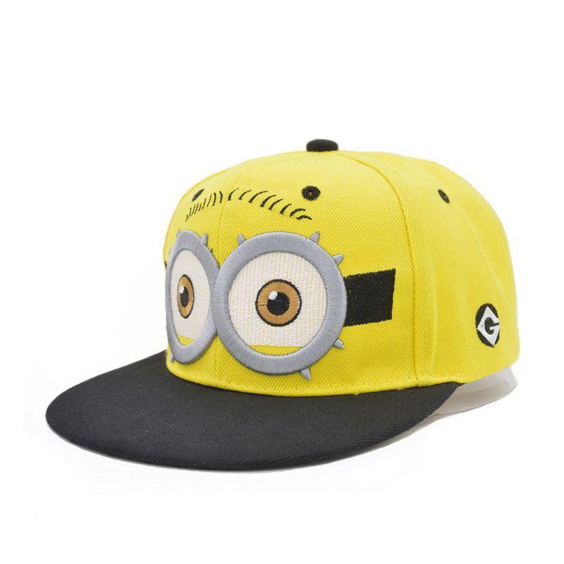 13fef72bcbf Compre 2016 Nueva Minion Hat Para Adultos Minions Casquillos Del Algodón  Ajustable Despicable Me Minion Marca Gorra De Béisbol A  14.28 Del  Watchlove ...