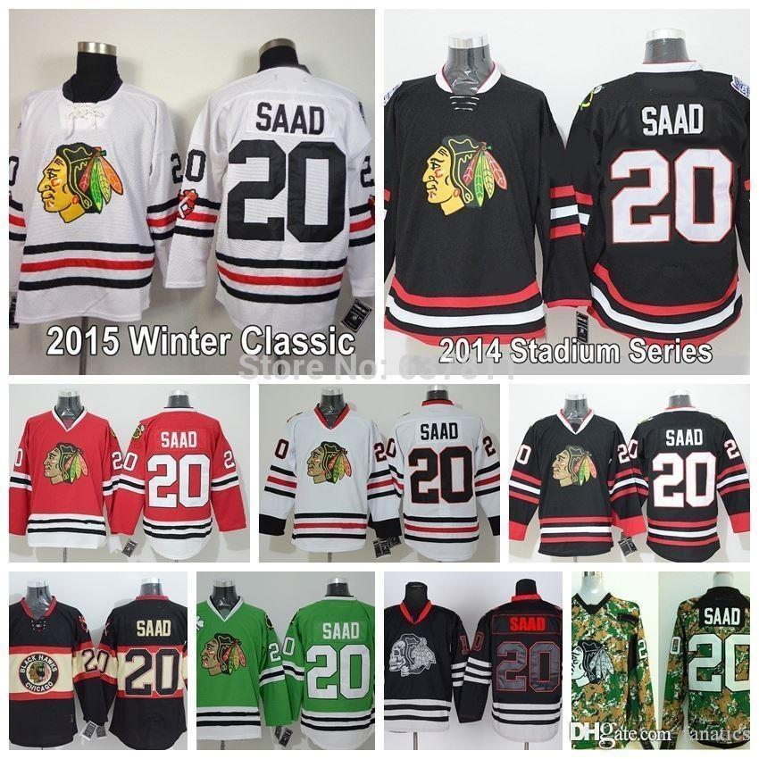 9129b0838fb ... ireland 2018 2016 chicago blackhawks brandon saad jersey home red white  winter classic black cheap 20