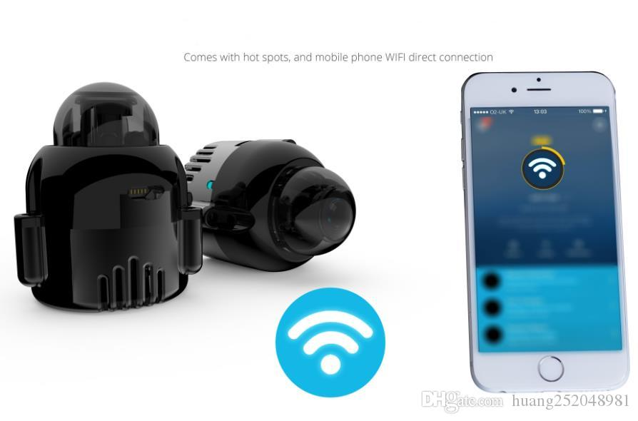 2017 Nuovo super piccolo 1080P HD IR Night Vision IP Wireless Pinhole nascosta telecamera bullet Telecamera di sorveglianza di sorveglianza di sicurezza