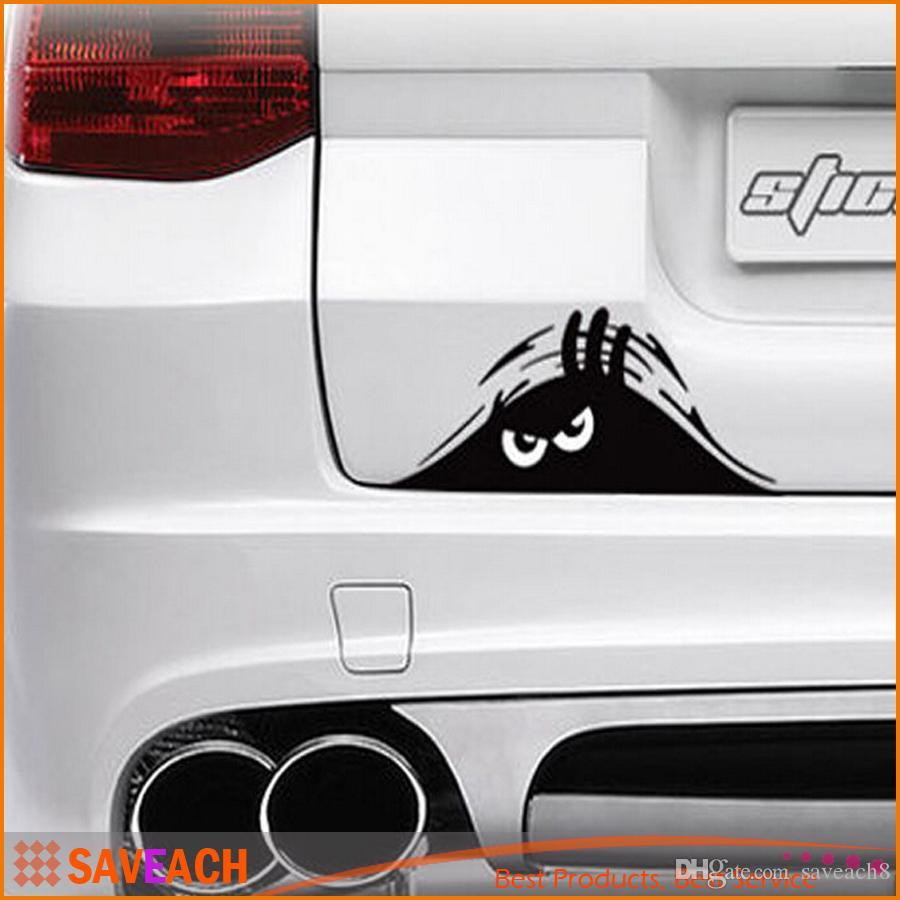 Best Quality Cm Funny Peeking Monster Auto Car Walls Windows - Auto graphic stickersdiscount auto graphic decalsauto graphic decals on sale at