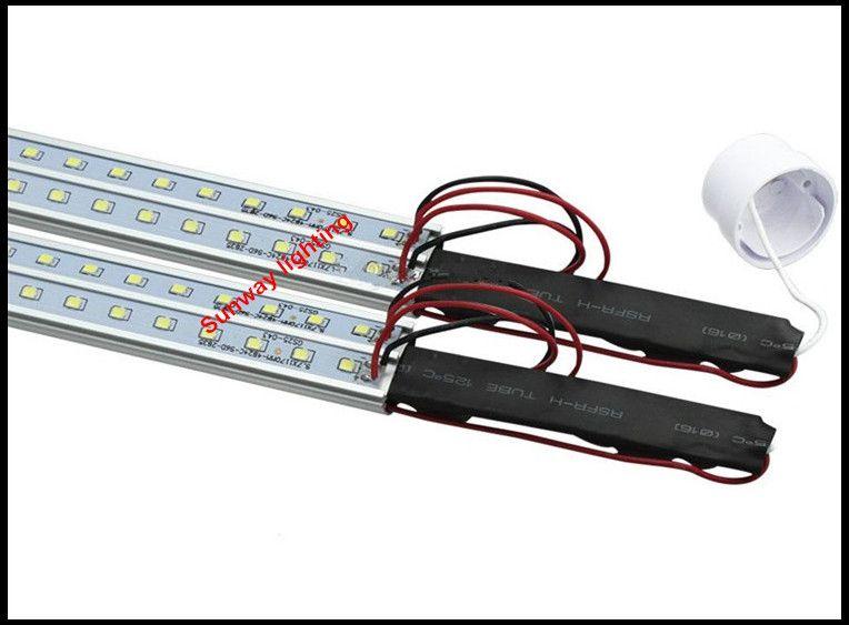 T8 Светодиодная трубка V-образной формы с обеих сторон Фонарь G13 Для дверцы холодильника 36 Вт 5 футов Светодиодный светильник AC85-265V UL