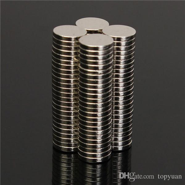 N52 6x1mm Disc Neodymium Magnet Strong Rare Earth Small Fridge Magnets