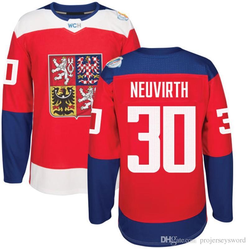2016 월드컵 하키 체코 팀 유니폼 33 나 크라 발 34 Mrazek 83 헴 스키 30 Neuvirth 64 폴락 2 Michalek 62 Sustr 모든 이름 번호
