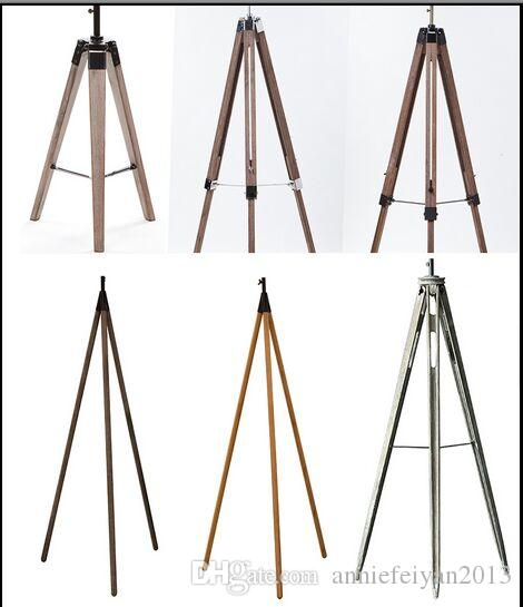 Floor Lights Lamp Lighting Spart Parts Accessories Tripod/Triangle Wooden Lamp Base/Lamp Holders for Floor Lamps