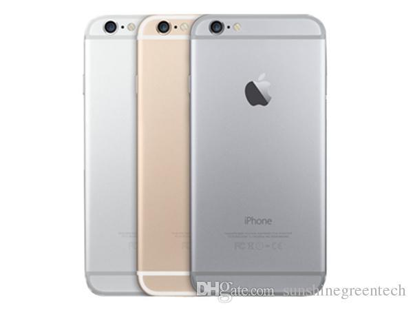 새로운 휴대폰처럼 재생 된 iPhone 6 정통 Apple iPhone 16G 64G IOS Gold 4.7 인치 스마트 폰 도매 중국 DHL 무료