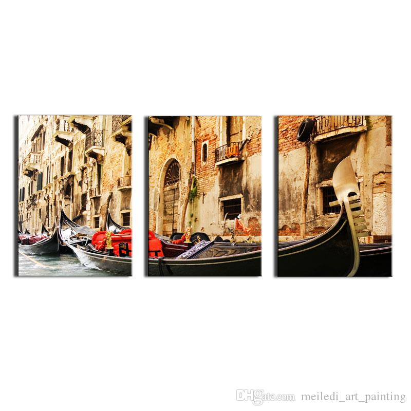 Wholesale 3 Panel Wall Art Painting On