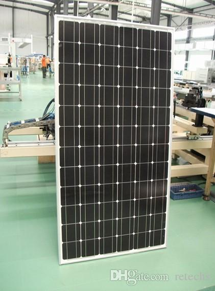 solar panels efficient 60w SunPower photovoltaic 18V Solar System 17.8% charging efficiency 5 years quality guarantee