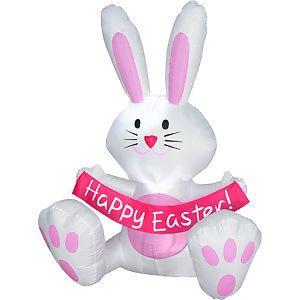 New Hot Sale Lindo modelo inflável coelho / coelho, coelho de Páscoa infláveis para a Páscoa Eventos Detalhes