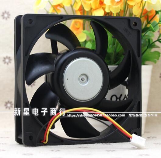 En gros: SANYO 9G1212H4D03 12 CM 120 * 120 * 25 12V 0.31A 3 fil double châssis à billes ventilateur