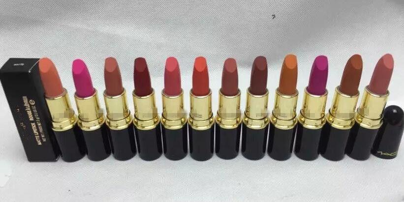 New style lipstick matte 3g waterproof natural lip stick for u choose supply