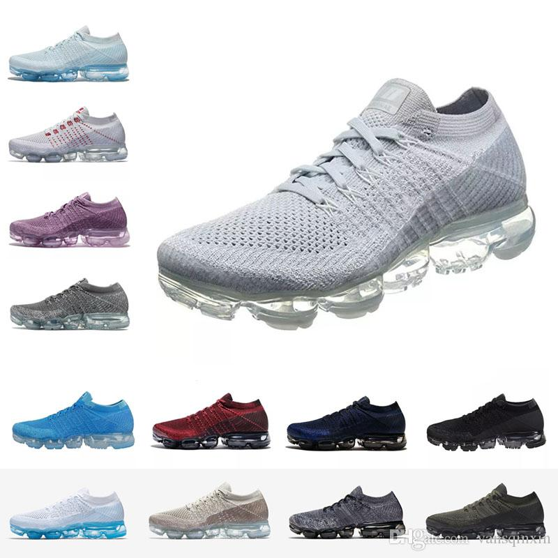 low shipping 2018 Vapormax Mens Women Running Shoes Good Quality Vapormax KPU Breathable Athletic Sport Jogging Walking Outdoor Sneakers sale cheap online Inexpensive cheap online Ztiy04h0
