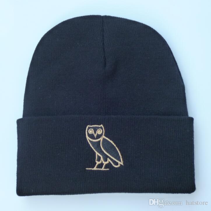 Ovo Owl Hat: 2016 Drake 6 God Ovo Owl Knit Beanie Caps For Men Women