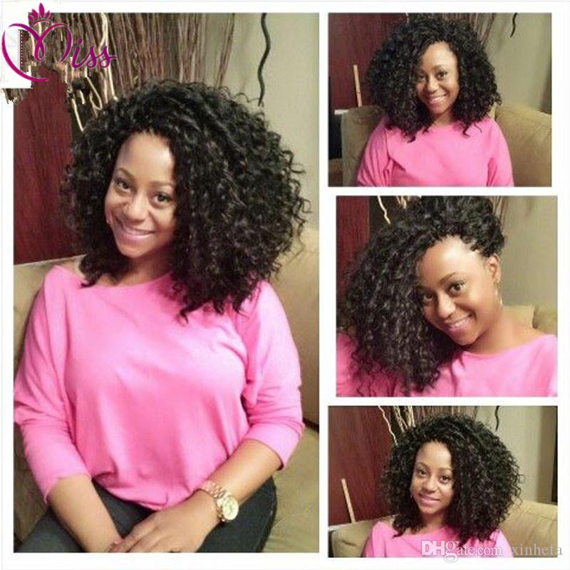 Soft human hair wigs for black women 100% Brazilian hair lace front wigs deep curly full lace human hair wigs
