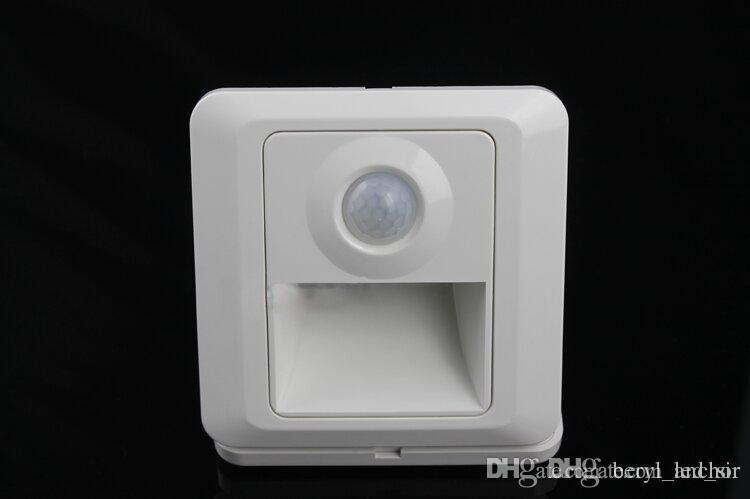 Automatic LED Recessed Wall Light 1.5w LED Stair Lights Indoor With Motion  Sensor Warm White Cool White White Night Light