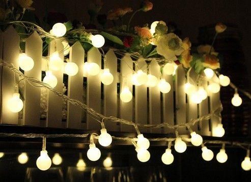 20M 200 LED 공 요정 문자열 조명 램프 Garlands 크리스마스 트리 크리스마스 휴일 웨딩 가든 야외 장식 110V - 240V