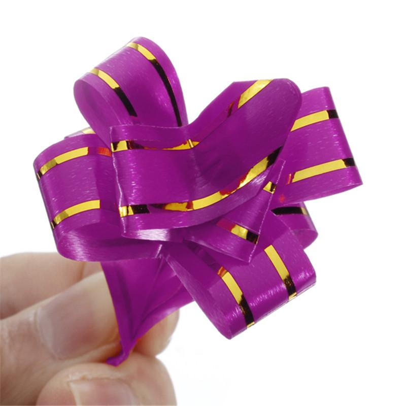 Pull Bow Gift Wrap Wedding Car Decoration Ribbon Strip Decor Decorate Gift Wedding Car Door