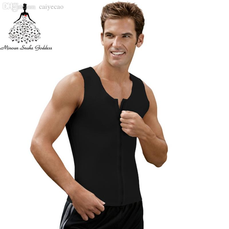 82a636f6b8dfe 2019 Wholesale Body Shaper Men Latex Waist Trainer Waist Training Corsets  Hot Body Shapers Waist Trainer Latex Waist Cincher Body Girdles Men From  Caiyecao