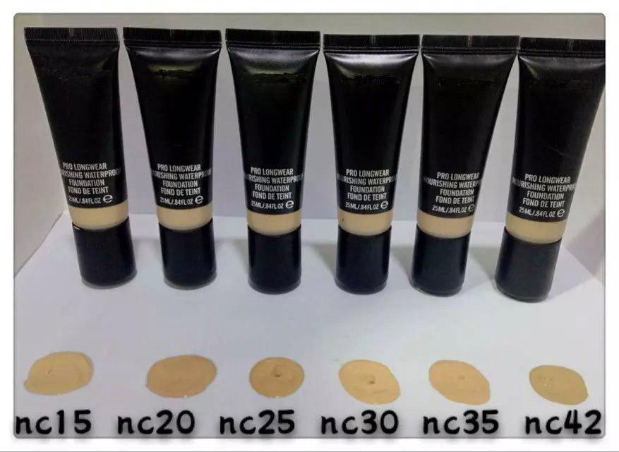 mac pro longwear nourishing waterproof foundation nc20