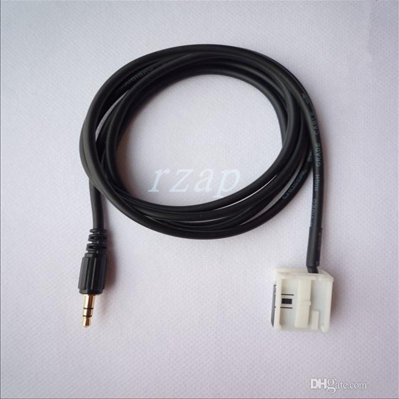 Autoradio AUX Eingangskabel Linie MP3 Player Audio Adapter Schnittstelle für Peugeot 207 307 308 607 807 Citroen C3 C4 C5