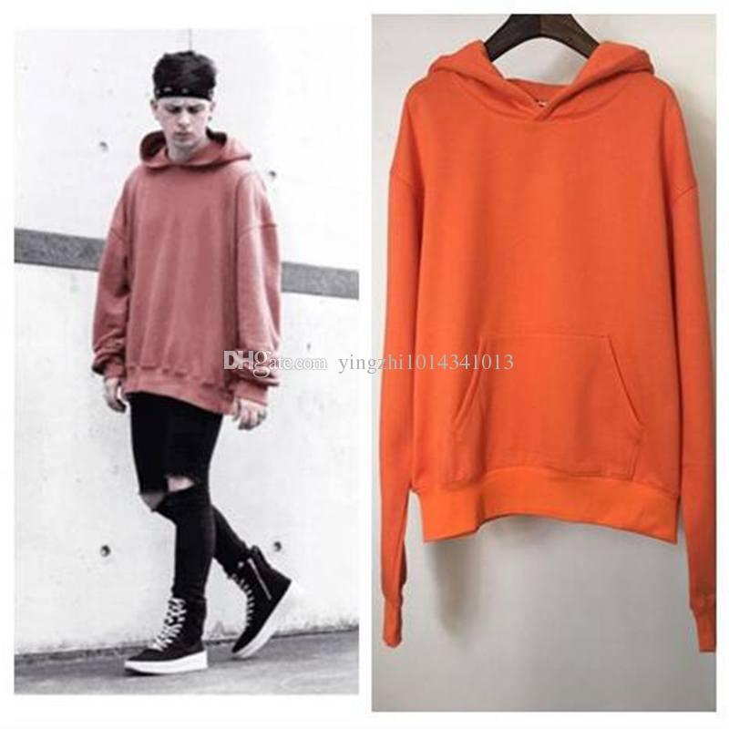 best justin bieber hoodies mens purpose tour staff orange. Black Bedroom Furniture Sets. Home Design Ideas