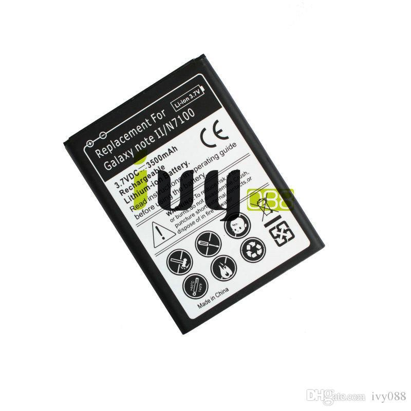 3500mAh EB595675LU Replacement Battery For Samsung Galaxy Note II 2 N7100 N7000 N7102 t-mobile T889 Sprint L900 Verizon i605