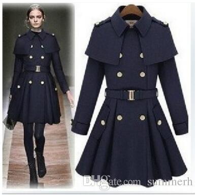 New Outwear In Donna 66 Trench A Lana Capo Dhgate Dal Summerh com Da Slim Cappotti Cappotto Monde Acquista Stile 90 0qSdRwF0