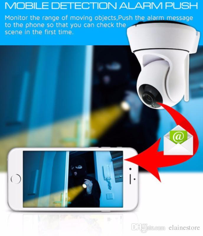 720 P HD Sem Fio WI-FI Monitor de Controle de Segurança CCTV IP Rotating Camera Controle Remoto Câmera Em Casa Do Bebê Monitor para IOS Andriod Tablet PC