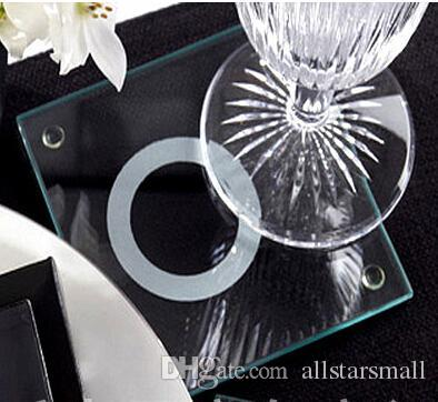 Wedding FavorSouvenirs For With This Ring Unique Stackable Glass Coasters Favors Candles Men From Allstarsmall