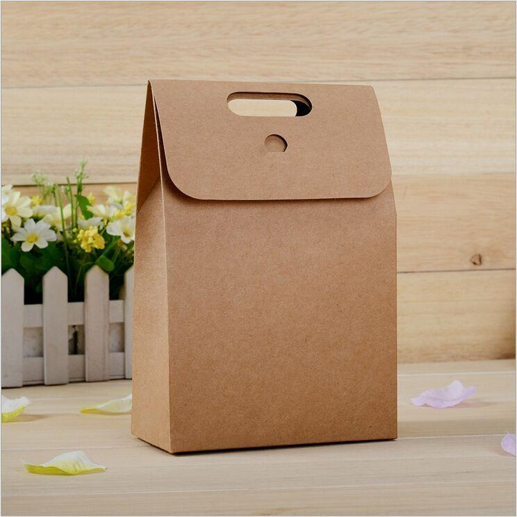 2017 Packing Bag 350g Kraft Paper Bag Candy Bags Paper Gift Bags ...