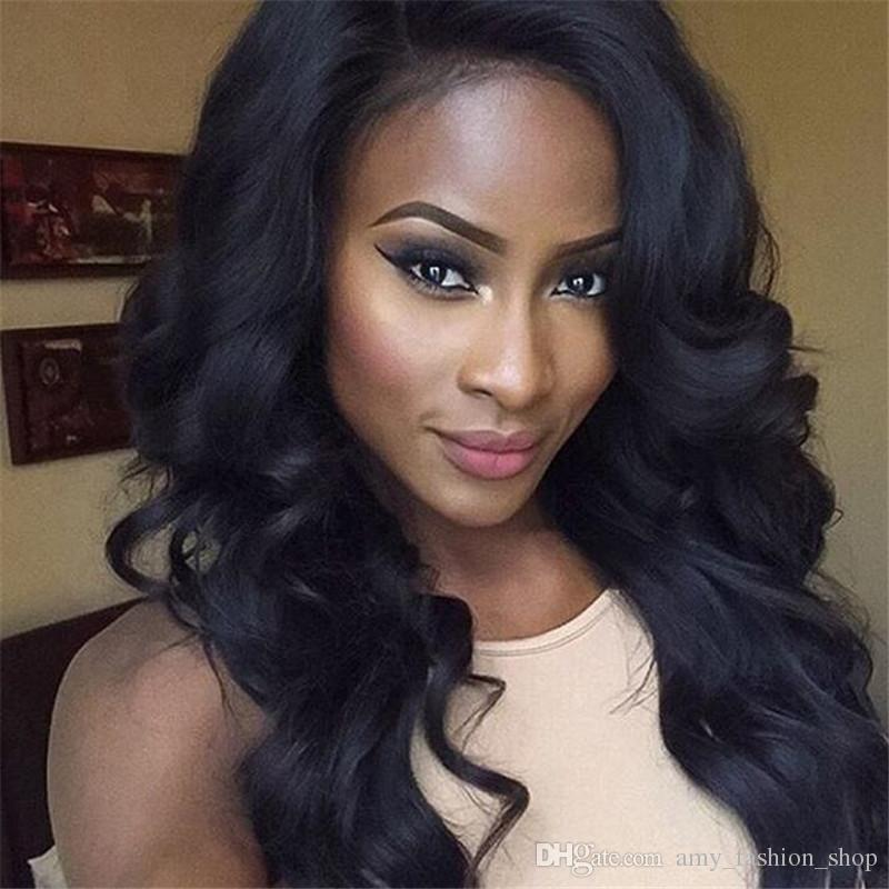 Unprocessed brazilian wig for sale hair 130 150 density brazilian body wave human hair wigs
