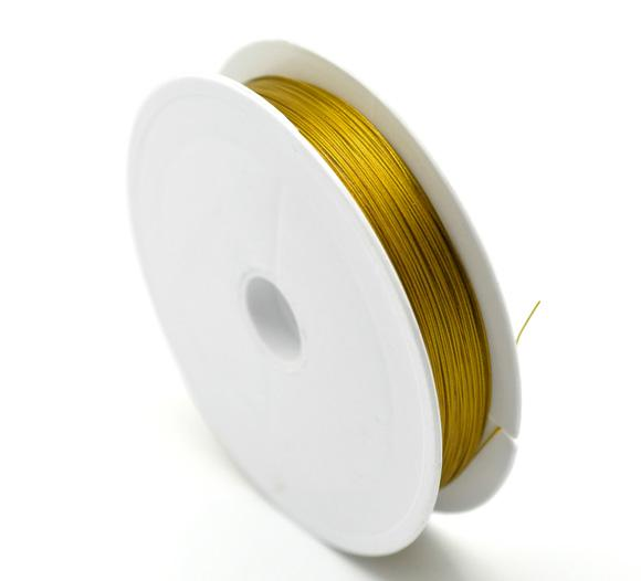 2015 new craft jewelry making 2x1 roll 80m gold plated beading wire 2015 new craft jewelry making 2x1 roll 80m gold plated beading wire 045mm high quality craft optics china wire craft jewelry cheap wire gage online with greentooth Choice Image