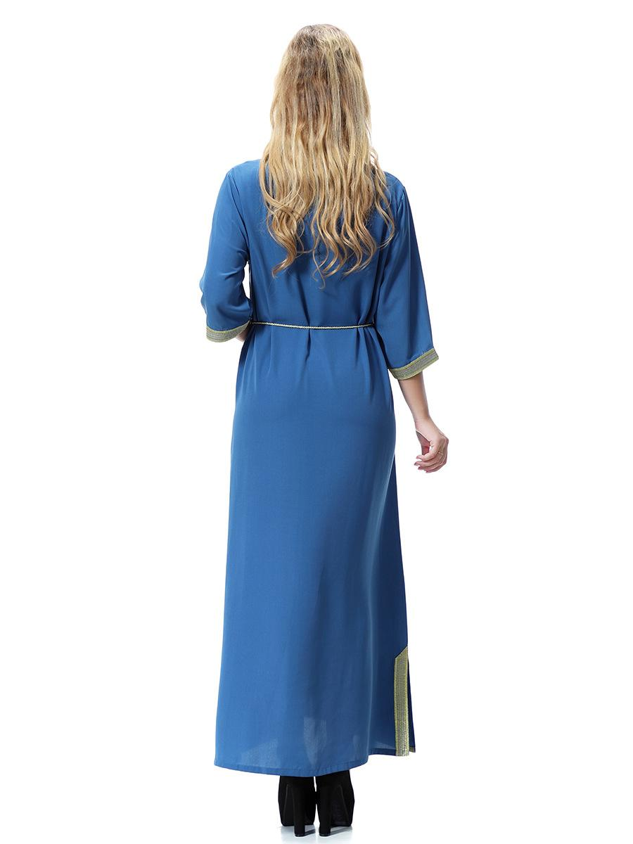 All'ingrosso ragazza musulmana vestito Arabia, il Medio Oriente, Dubai, Arabia Saudita, abiti delle donne del sud-est asiatico, abiti lunghi le ragazze della signora