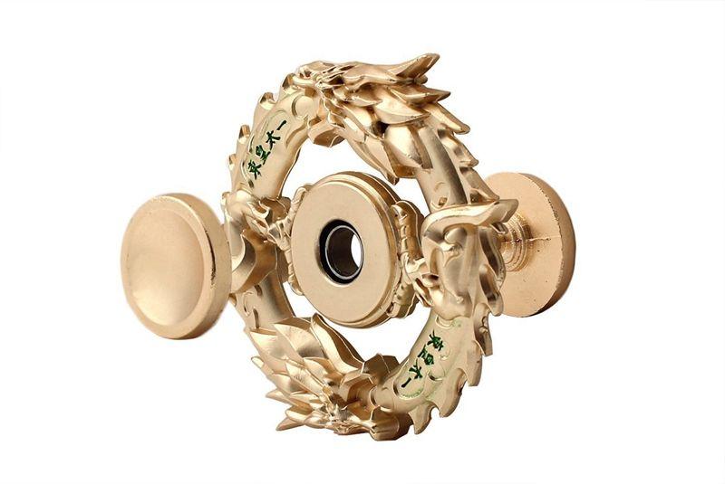 2017 Лучший горячая рука Spinner непоседа Spinner kirsite металл высокоскоростной подшипник палец спиннинг гироскопа декомпрессии пальцы игрушки