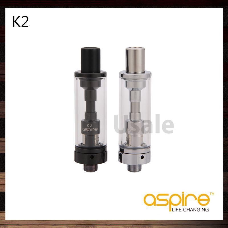 Aspire K2 Tanque K2 Atomizador 1.8ml Com Bobinas BVC Aspire K3 Tanque K3 Atomizador 2ml Com Nautilus BVC Bobinas 100% Original