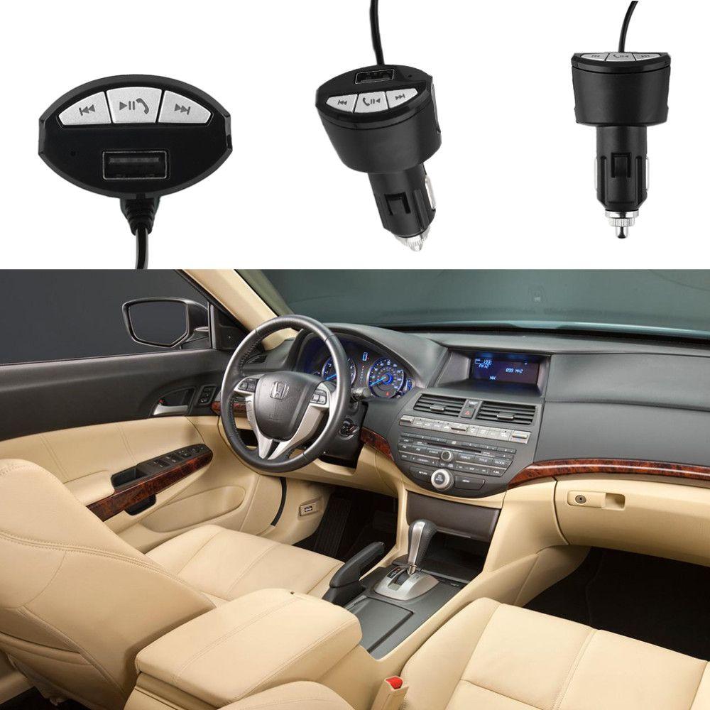 A2DP Bluetooth Kablosuz Araç Kiti Stereo Ses Müzik Alıcısı Adaptörü 3.5mm AUX OTO ile USB Şarj Çakmak