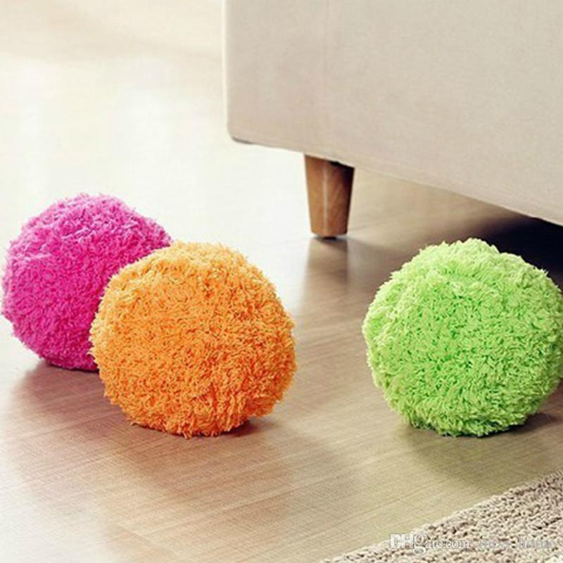 Hot Selling Automatic rolling ball Microfiber Robotic Mop Ball Mini Vacuum Cleaner Automatic Floor Sweeper Four Color Mop Ball Sweeping Robo