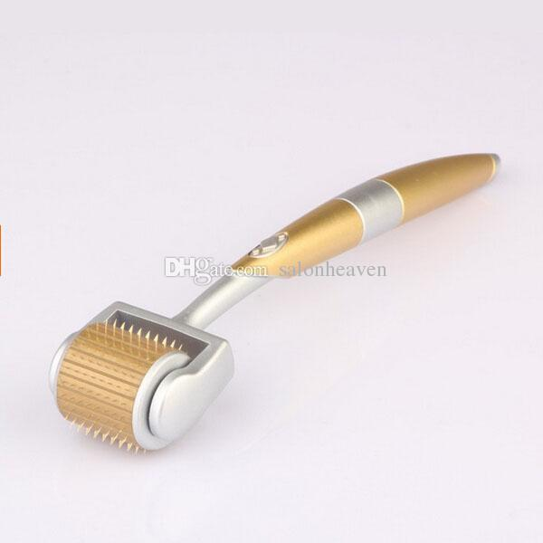 Factory Price ZGTS 192 Needle Derma Roller ZGTS Micro Needle Dermaroller 192 Needles Microneedle Roller for Skin Rejuvenation Anti Aging