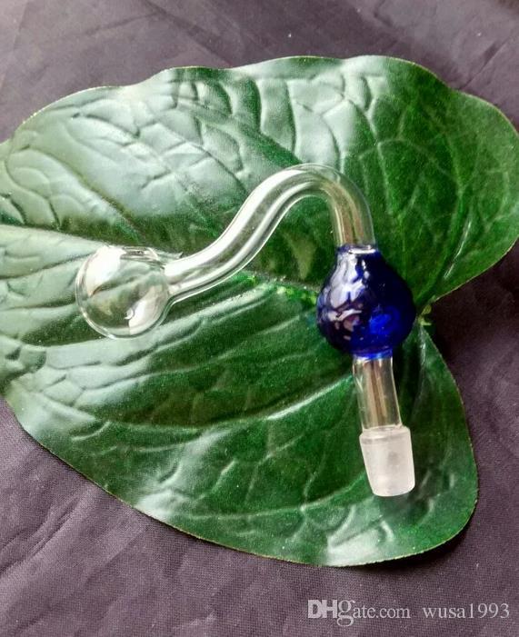 Vaso fragole in vetro colorato + Tavola da corsa + set paglia, accessori narghilé in vetro all'ingrosso, Tubi di vetro bubbler oil rig