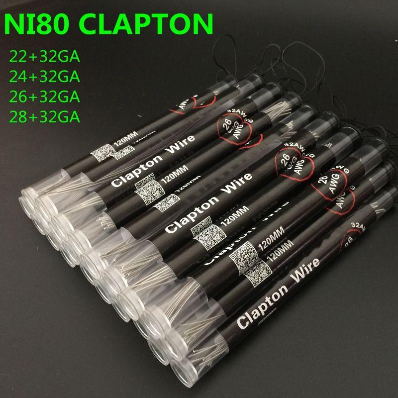 Großhandel Nichrome 80 Clapton Draht 120mm Vtsky Dampf Niedrige Ohm ...