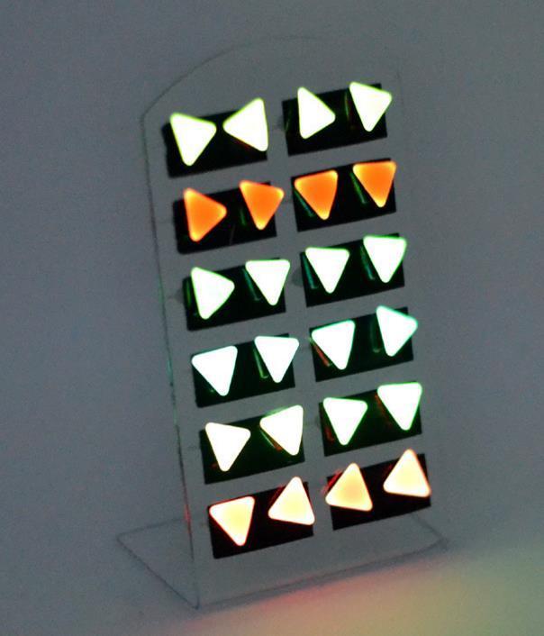 Mode Glow Ohrstecker Ohrring Neon Farbe Glow In Dark männer frauen kinder candy farbe ohrringe party club charme schmuck New Xmas Geschenk