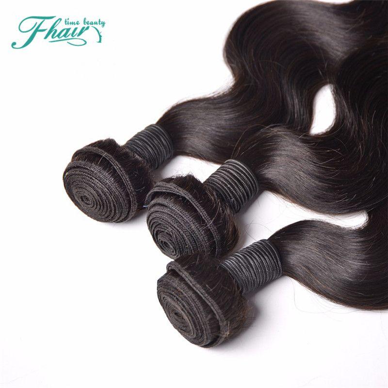 6A необработанные человеческие волосы индийские волосы объемная Волна 3 пачки в серию 100g/3.5 oz волос соткут Подгонянную 10-30 смешанную длину