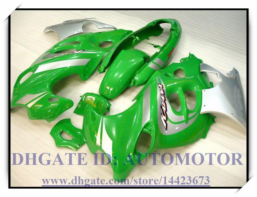 Kit regalo di alta qualità carabina abs 100% Suzuki GSX600F / 750F 2003-2006 2004 2005 Katana GSX 600F 03-06 Katana # HX675 VERDE
