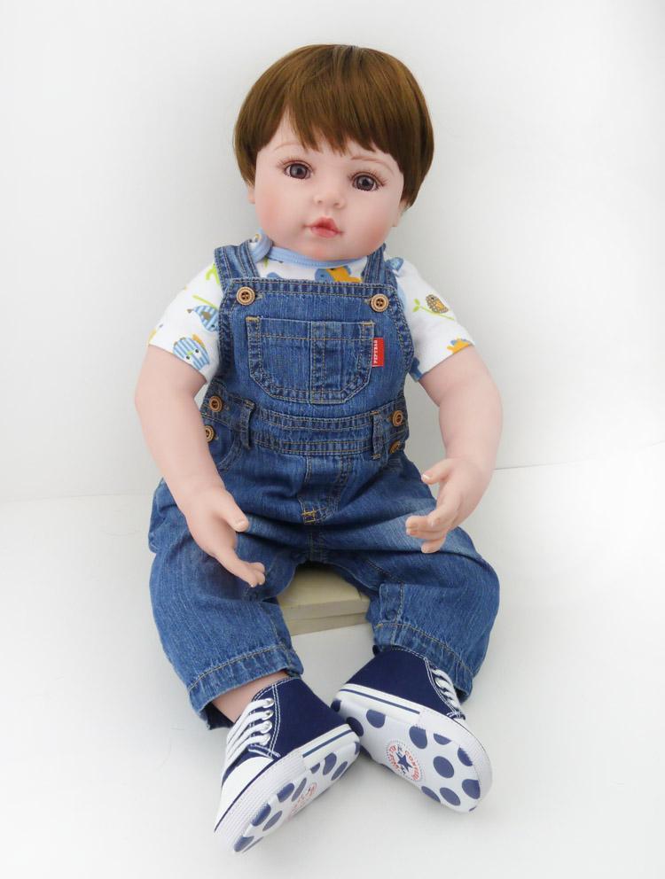 collectible vinyl 22 inch adora baby boy doll toy soft vinyl collectible toddler