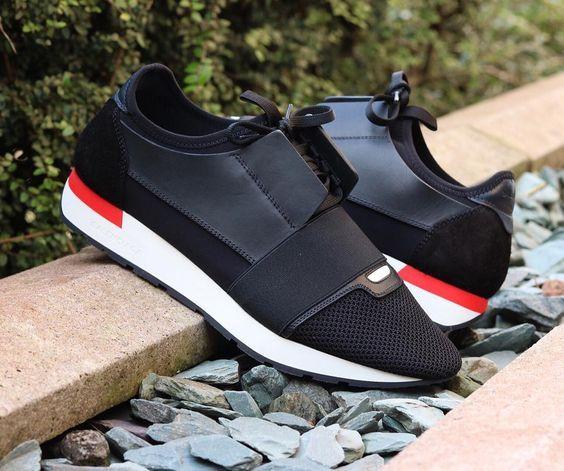 Scarpe da uomo con motivo a maglia nera fantasia scarpe da uomo casual con colori assortiti taglia 35-46