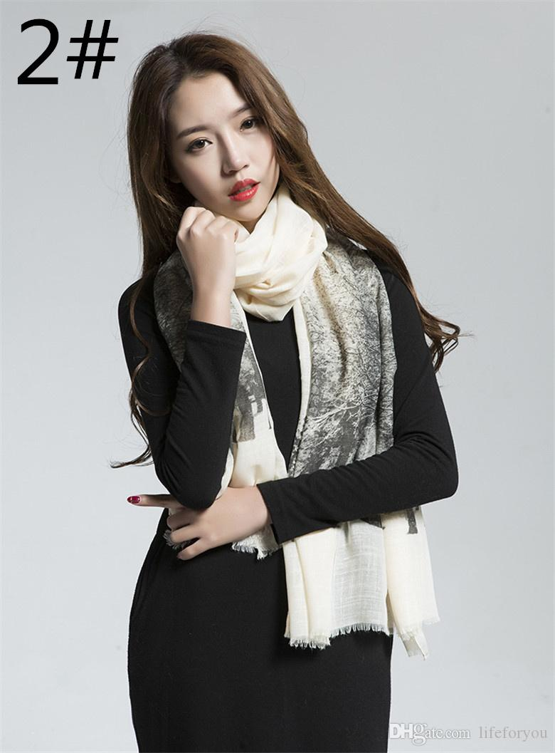 Signore donne autunno inverno sciarpe moda avvolge caldo morbido cotone sciarpa cashmere pashmina accessori casual, i tra cui scegliere