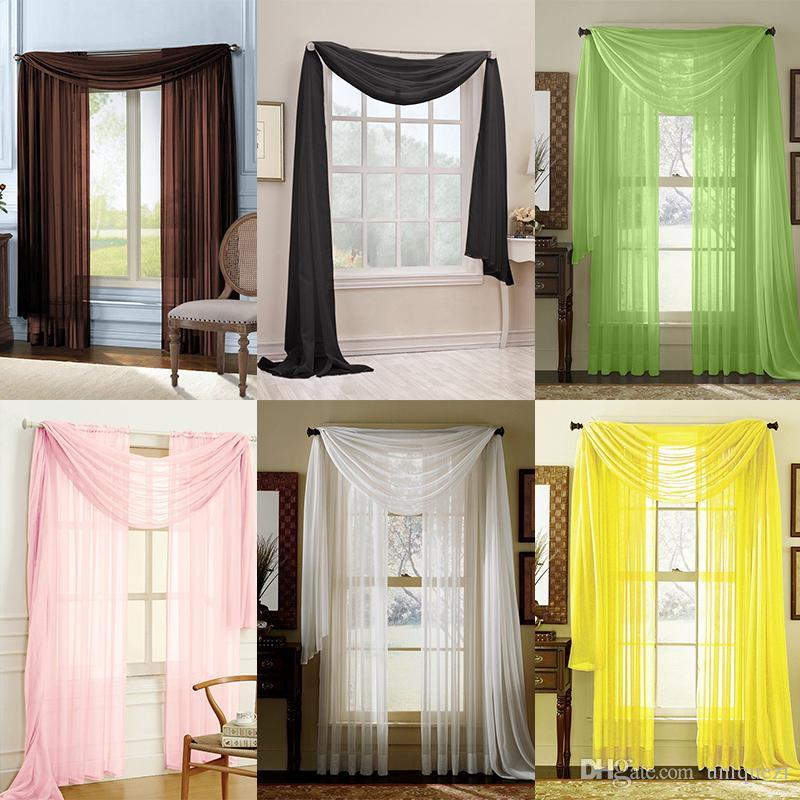 rod how image hanging to ideas without of hang scarf window valance a