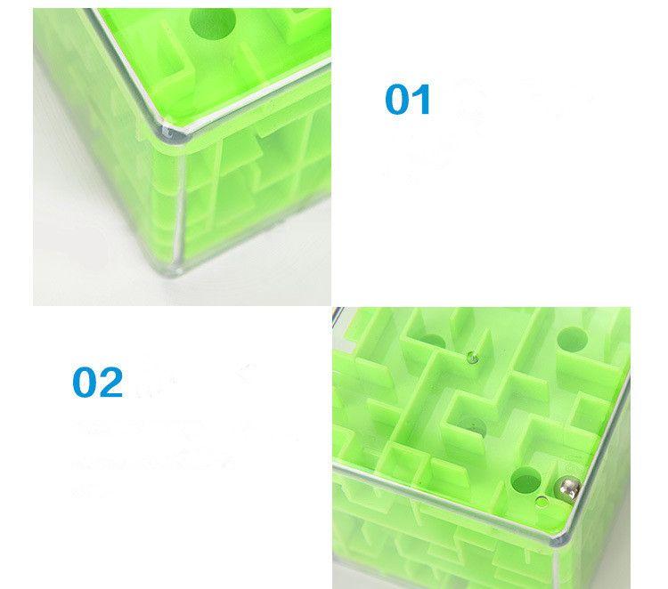 color box 3-color children's puzzle magic maze money cans intellectual development 3d three-dimensional maze cube toys puzzle box