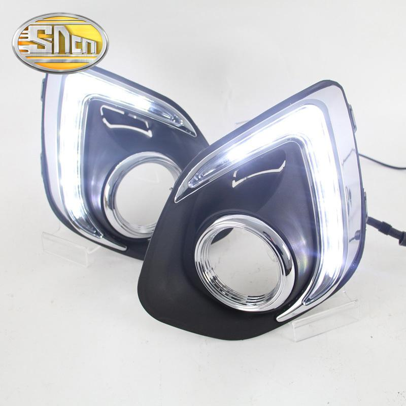Style Of Sncn Led Daytime Running Light For Mitsubishi Asx 2013 2014 2015 Car Accessories Waterproof Abs 12v Drl Fog Lamp Decoration Brightest Led Drl Buy Daytime Luxury - Fresh led light accessories In 2018