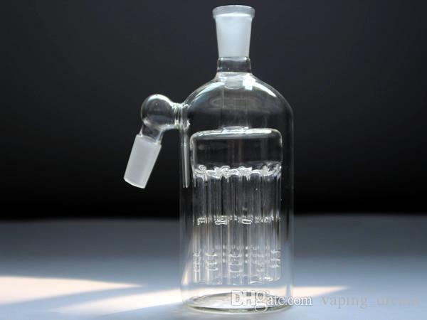 Glass Ashcatcher 11 Armed Wide Tree Perc 14.4mm and 18.8mm Joint Glass Ash Catcher for recycler oil rigs water bongs